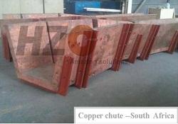Copper chute